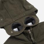 Мужская толстовка C.P. Company Mako Fleece Goggle Hood Olive фото- 2