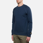 Carhartt WIP Chase Sweat Blue Penny photo- 1