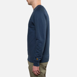 Carhartt WIP Chase Sweat Blue Penny photo- 2