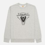 Carhartt WIP Cats Men`s Sweatshirt Grey Heather/Black photo- 0
