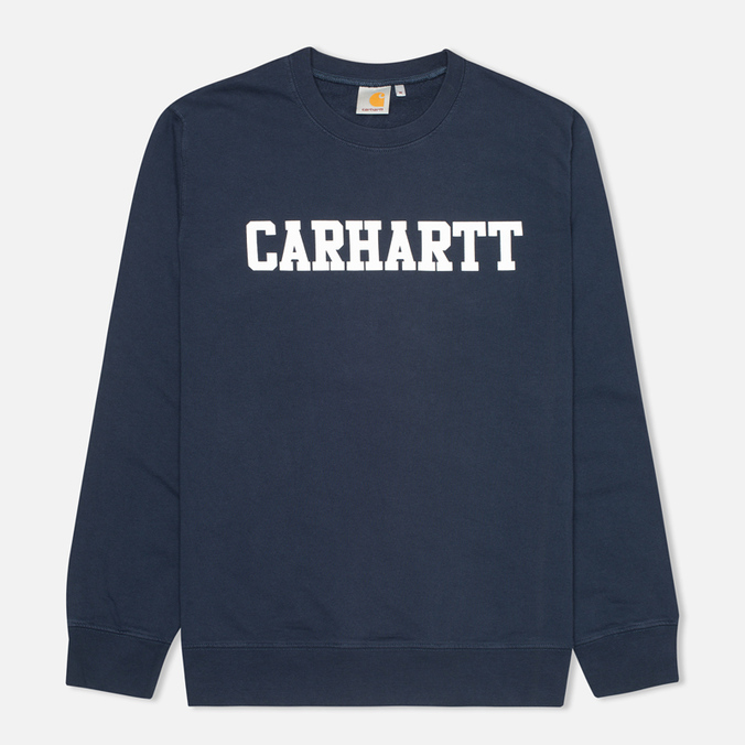 Мужская толстовка Carhartt WIP College Duke Blue/White