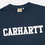 Мужская толстовка Carhartt WIP College Duke Blue/White фото- 1