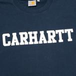 Мужская толстовка Carhartt WIP College Duke Blue/White фото- 2