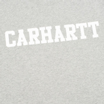 Мужская толстовка Carhartt WIP College Grey Heather/White фото- 2
