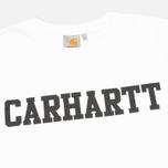 Мужская толстовка Carhartt WIP College White/Black фото- 1