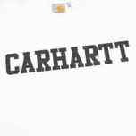 Мужская толстовка Carhartt WIP College White/Black фото- 2