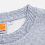 Мужская толстовка Carhartt WIP Eaton Pocket Grey/Mitchell Camo фото- 3