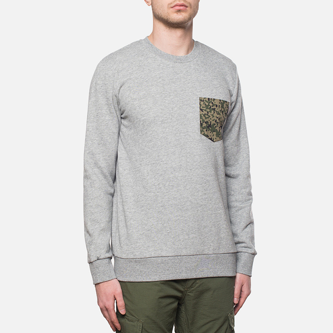 Carhartt WIP Lombard Pocket Sweat Sparrow Heather