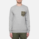 Carhartt WIP Lombard Pocket Sweat Sparrow Heather photo- 4
