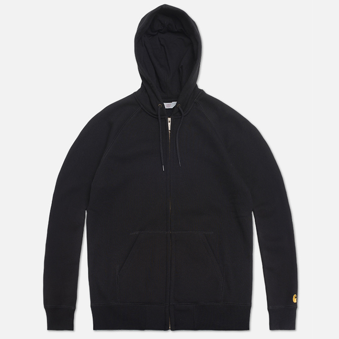 Мужская толстовка Carhartt WIP Zip Hooded Chase Black