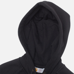 Мужская толстовка Carhartt WIP Zip Hooded Chase Black фото- 1