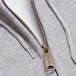 Мужская толстовка Carhartt WIP Zip Hooded Chase Grey Heather фото- 2