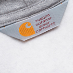 Carhartt WIP Zip Hoody Chase Grey Heather photo- 4