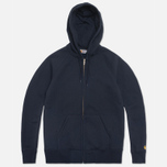 Carhartt WIP Zip Hoody Chase Jet photo- 0