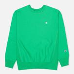 Мужская толстовка Champion Reverse Weave Basic Crew Neck Mantis Green фото- 0