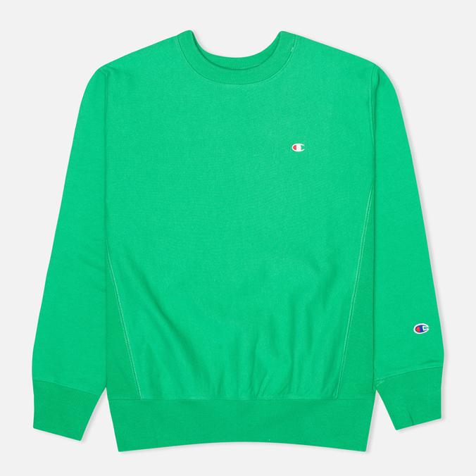 Мужская толстовка Champion Reverse Weave Basic Crew Neck Mantis Green