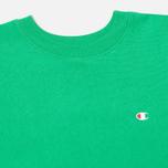 Мужская толстовка Champion Reverse Weave Basic Crew Neck Mantis Green фото- 1