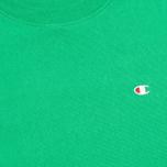 Мужская толстовка Champion Reverse Weave Basic Crew Neck Mantis Green фото- 2