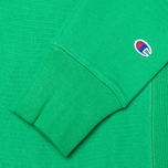 Мужская толстовка Champion Reverse Weave Basic Crew Neck Mantis Green фото- 3