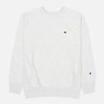 Champion Reverse Weave Basic Crew Neck Men`s Sweatshirt Oxford Grey photo- 0