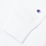 Мужская толстовка Champion Reverse Weave Basic Crew Neck White фото- 3
