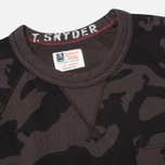 Мужская толстовка Champion x Todd Snyder Classic Crew Pocket Black/Camo фото- 1