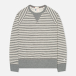 Мужская толстовка Champion x Todd Snyder Classic Crew Pocket Stripe Grey Heather фото- 0