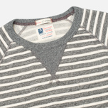 Мужская толстовка Champion x Todd Snyder Classic Crew Pocket Stripe Grey Heather фото- 1