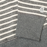 Мужская толстовка Champion x Todd Snyder Classic Crew Pocket Stripe Grey Heather фото- 3
