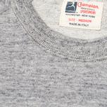 Мужская толстовка Champion x Todd Snyder Classic Crew Short Sleeve Grey Heather фото- 2