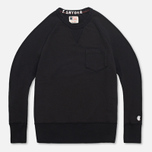 Мужская толстовка Champion x Todd Snyder Crewneck Black фото- 0