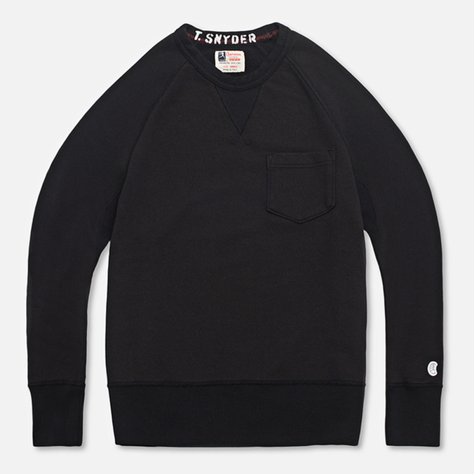 Мужская толстовка Champion x Todd Snyder Crewneck Black