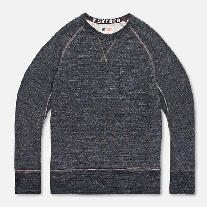 Champion x Todd Snyder Crewneck Sweatshirt Charcoal Heather