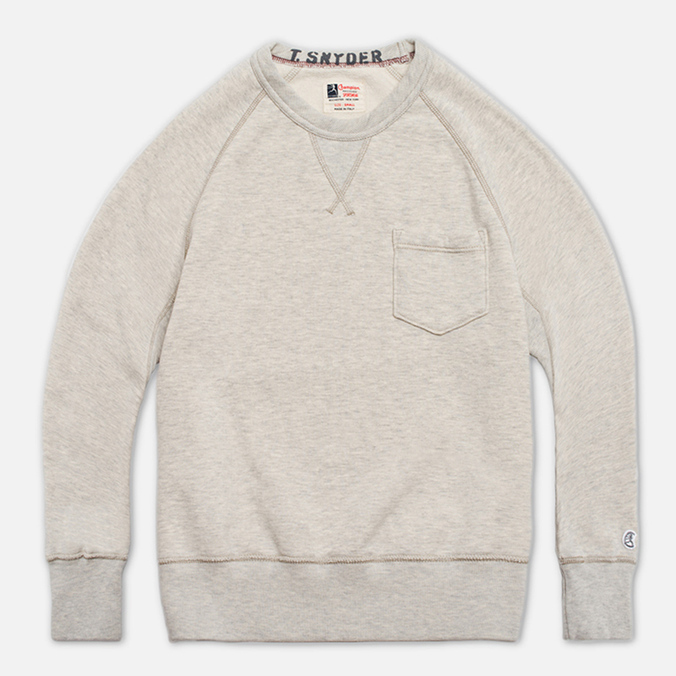 Мужская толстовка Champion x Todd Snyder Crewneck Oatmeal Heather
