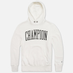 Мужская толстовка Champion x Todd Snyder Hooded Vintage White фото- 0