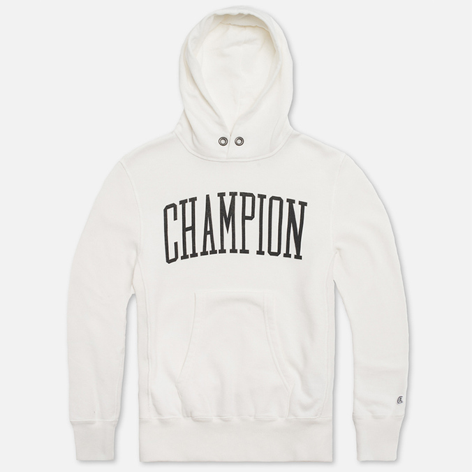 Мужская толстовка Champion x Todd Snyder Hooded Vintage White