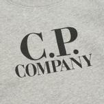 Детская толстовка C.P. Company U16 Crew Neck Arm Lens Print Grey фото- 3