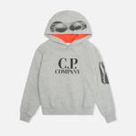Детская толстовка C.P. Company U16 Goggle Print Arm Lens Grey фото- 0