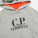 Детская толстовка C.P. Company U16 Goggle Print Arm Lens Grey фото- 1