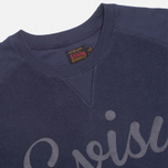 Evisu Reversu Terry Men`s Sweatshirt Navy photo- 1