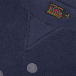 Evisu Reversu Terry Men`s Sweatshirt Navy photo- 2