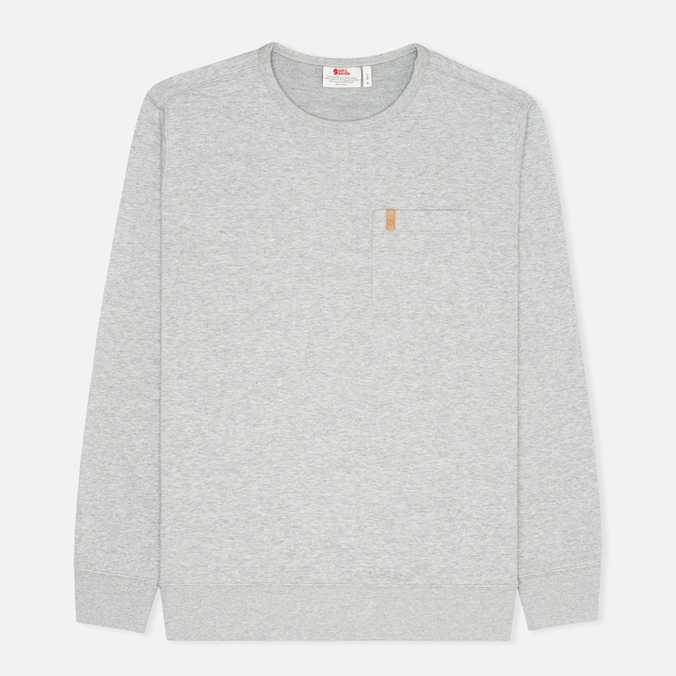 Мужская толстовка Fjallraven Ovik Sweater Grey