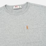 Мужская толстовка Fjallraven Ovik Sweater Grey фото- 1