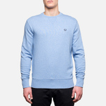 Fred Perry Classic Crew Neck Summer Blue Marl photo- 0