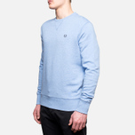 Fred Perry Classic Crew Neck Summer Blue Marl photo- 1