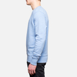 Fred Perry Classic Crew Neck Summer Blue Marl photo- 2