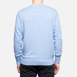 Fred Perry Classic Crew Neck Summer Blue Marl photo- 4
