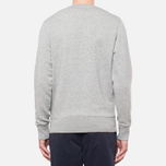 Fred Perry Classic Crew Neck Vintage Steel Marl photo- 3