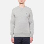 Fred Perry Classic Crew Neck Vintage Steel Marl photo- 4