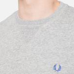 Fred Perry Classic Crew Neck Vintage Steel Marl photo- 5